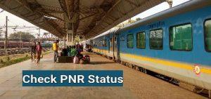 pnr status live check on mobile online
