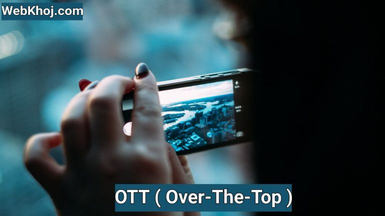 ott meaning in hindi
