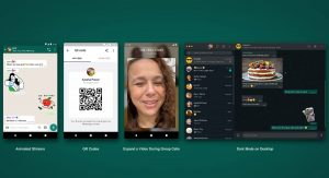 Whatsapp new update features qr code animated stickers
